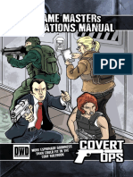 Covert Ops - GM Operation Manual