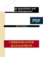 Crisis Management Hostage Negotiation
