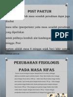 Post Partum Ppt JADI