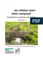 What Do Children When Camping_2015_waite_parkinson