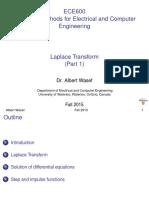 ECE600 Laplace Transform Part1