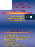 2. Exercise Physiology