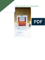 Spesifikasi Master Control Fire Alarm Abs