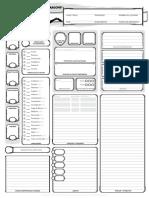 Ficha D&D5 Editable