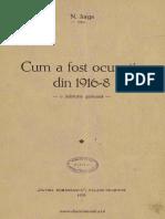 N.iorga - Cum a Fost Ocupaia Din 1916-8 - o Mrturie German