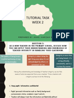 Tutorial Week 2