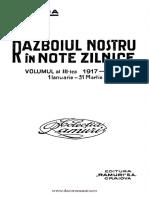Nicolae Iorga - Rzboiul Nostru n Note Zilnice. Volumul 3 1917 - 1918