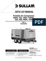 Sullair 900RH Parts Manual