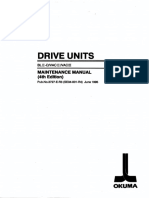 Okuma Drive Units VAC II III Maintenance Manual