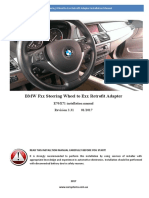 BMW Fxx Steering Wheel to Exx Retrofit Adapter Rev 3 31