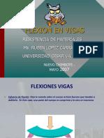 FLEXION DE VIGAS (Resistencia De Materiales)