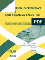 Fundamentals of Finance - Syllabus