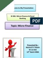 Microfinance 2003