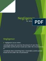 Negligence - Copy
