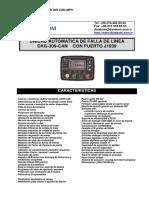 Datakom DKG 309 Español