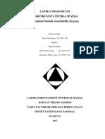 Interpolasi Metode Geostatistik (Kriging)