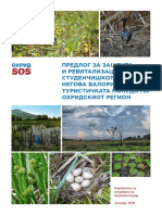 Proposal for protection and revitalization of the Studenchishte Marsh