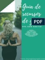 Guía de Recursos Online de Yoga