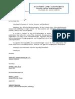 Budget Letter