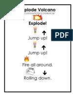 explode volcano