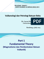 Volcanology Part extra