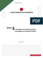 Módulo_3_ a Utilização de Ferramentas Gerenciais e Tecnológicas Nas Ouvidorias Públicas