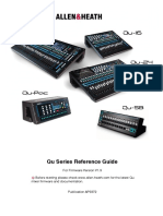 Qu Mixer Reference Guide AP9372 9