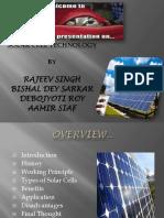 Presentation on Solar Cell