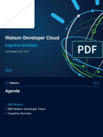 IBM Watson Cognitive Solutions