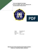 8. Pengembangan Turbin Air Type Cross-flow Diameter