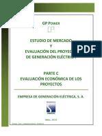 Evaluación Económica - Centrales