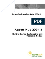 AspenPlus2004[1].1GettingStartedCustomizing