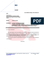 Carta N° 35-2013 - Reinicio de Obra - Carlos Solano