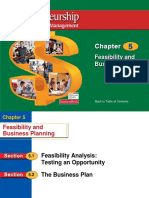 Ch_05 Feasibility & Business Planning