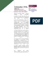 Entender ITIL 2011 Normas y Mejores Practicas Para Avanzar Hacia ISO 2000