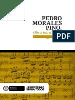 Pedro Morales Pino - Obra para piano