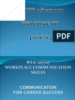 Wuc107 Tutorial 1 Ppt