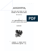 Augustus. the Life and Times of the Founder of the Roman Empire. by Evelyn Shirley Shuckburgh