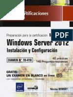 Windows Server 2012 - MCSA 70-410 - Instalación y Configuración