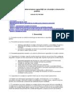 PD 189 Din 2000 NORMATIV Pentru Determinarea Capacităţii de Circulaţie a Drumurilor Publice