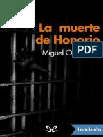 La muerte de Honorio - Miguel Otero Silva.pdf