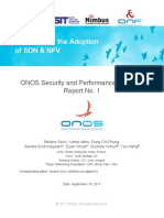 ONOS Security and Performance Analysis Brigade Report No1
