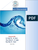 Fluid-Mechanics - Discussion - Ahmad Agha