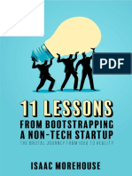 11 Lessons From Bootstrapping a Non Tech Startup