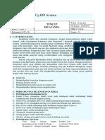 Job Sheet Tune Up EFI Avanza