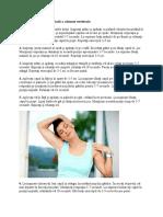 Exerciții Pentru Zona Cervicală a Coloanei Vertebrale
