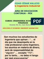 Tema Nº 1 - Naturaleza de la ingeniería Económica