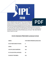 VIVO IPL T20 2018 Schedule_IPL 2018 Start Date, IPL 2018 Fixture, IPL 10 Full Timetable Download, PhotosCricket Upcoming Wiki