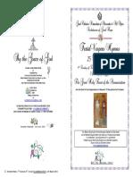 2018-24-25 Mar - Annunciation - Festal Vespers