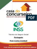 Apostila Inss 2016 Portugues Zambeli